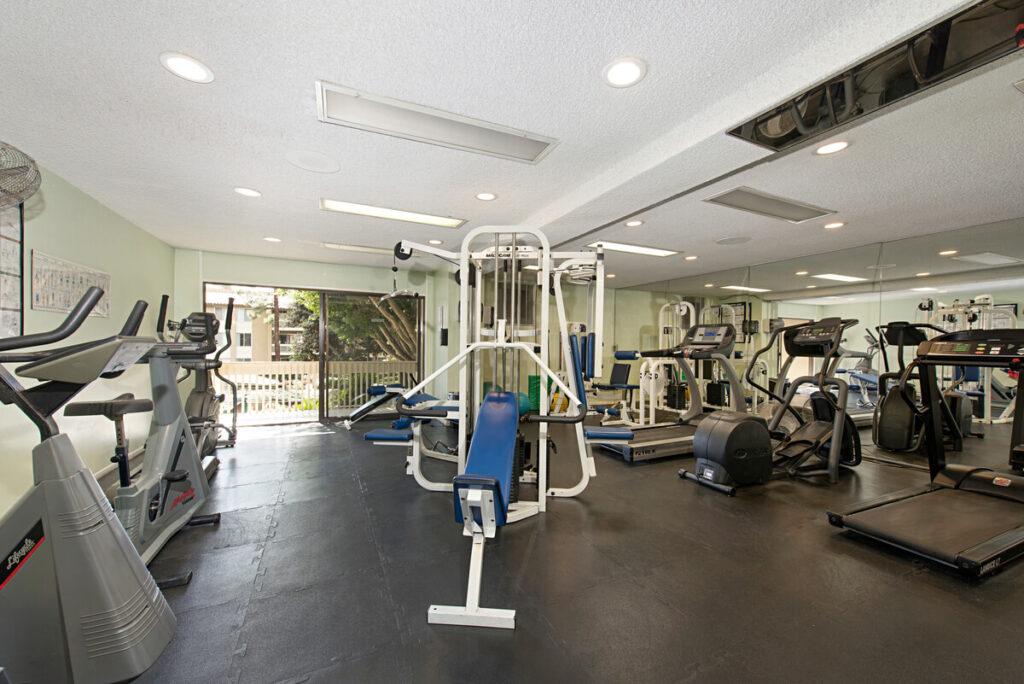 The Plaza condos gym