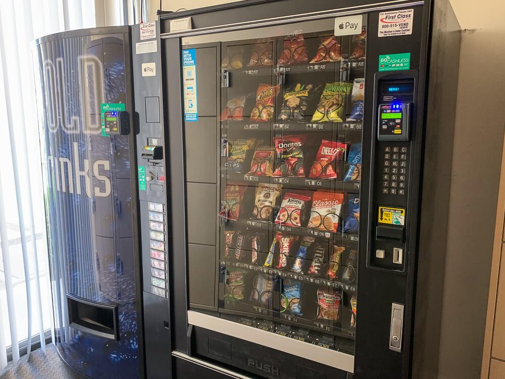 The Plaza condos vending machines