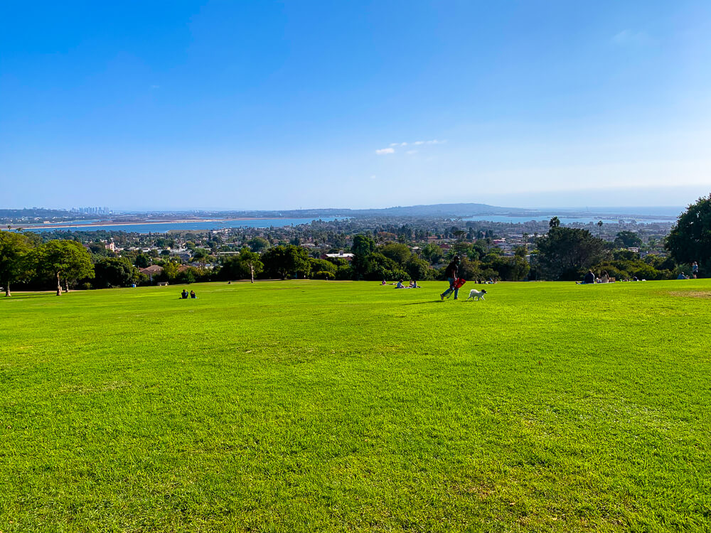 View from Kate Sessions Park, Pacific Beach
